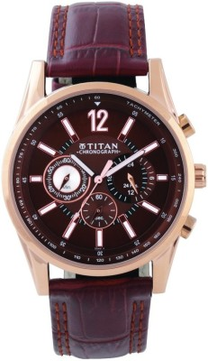 Titan 9322WL06 Classique Analog Watch For Men