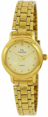 Maxima 48460CMLY  Analog Watch For Women