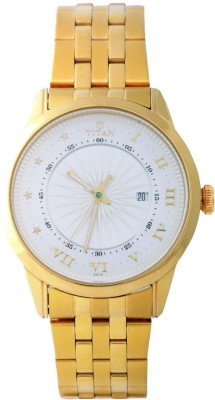Titan 1752YM02 Regalia Sovereign Analog Watch For Men