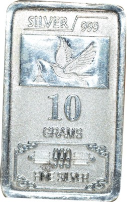 Kataria Jewellers Fine Silver S 999 10 g Silver Bar Kataria Jewellers Coins   Bars