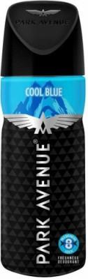 Park Avenue Cool Blue Deodorant Pack of 1 Deodorant Spray  -  For Men(130 ml)