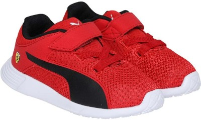 Puma Boys & Girls Velcro Sneakers(Red) at flipkart