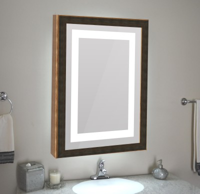 Elegant 2418LEDMRREM0154 Decorative Mirror(Rectangle) at flipkart