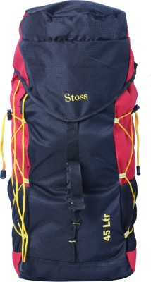 Stoss 45 Liter Red Rucksack  - 45 L(Red) at flipkart
