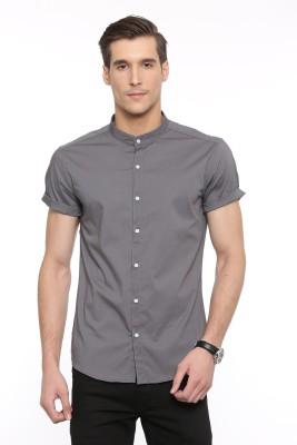 638d16637 55% OFF on Showoff Men's Solid Casual Chinese Collar Shirt on Flipkart    PaisaWapas.com