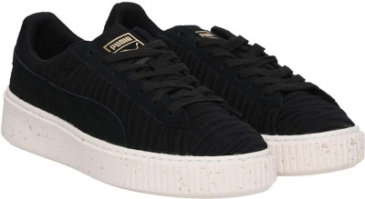Puma Basket Platform OW Wn's Sneakers For Women(Black) at flipkart