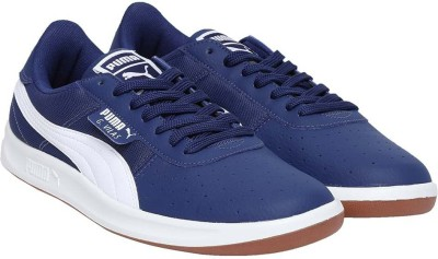 Puma G Vilas Sneakers For Men(White, Blue) at flipkart