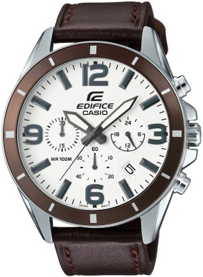 Casio Edifice EFR-553L-7BVUDF (EX284) Analog White Dial Men's Watch