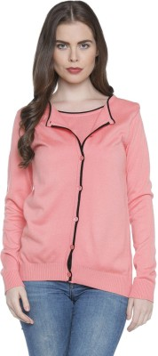 Annabelle by Pantaloons Women's Button Solid Cardigan