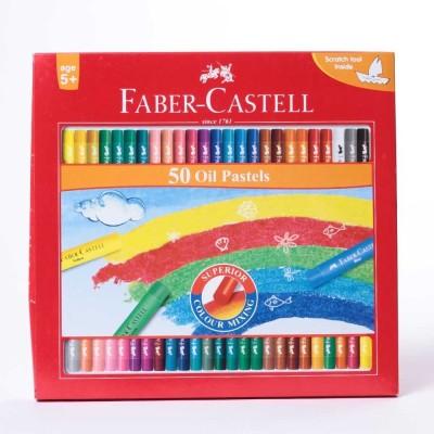 Faber-Castell Oil Pastel 50(Multicolor)