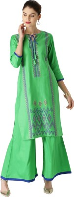 Libas Women's Kurta and Palazzo Set