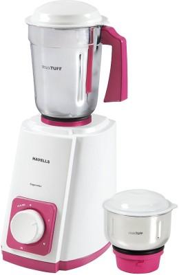 Havells super mix 2 jar 500 W Mixer Grinder(Pink, White, 3 Jars)