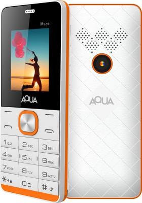Aqua Maze(White Orange)