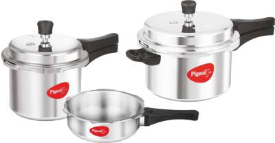 Pigeon Special Combo Pack 2 L, 3 L, 5 L Pressure Cooker