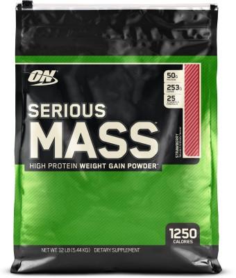Optimum Nutrition Serious Mass Weight Gainers(2.72 kg, Chocolate Peanut Butter)