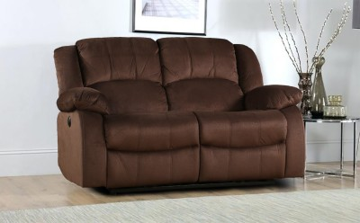 HomeTown Fabric Powered Recliners(Finish Color - Brown) at flipkart