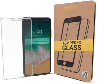 MTT Tempered Glass Guard for Apple iPhone X(Pack of 1) at flipkart