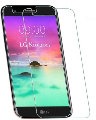 EASYBIZZ Tempered Glass Guard for LG K10 2017(Pack of 1)