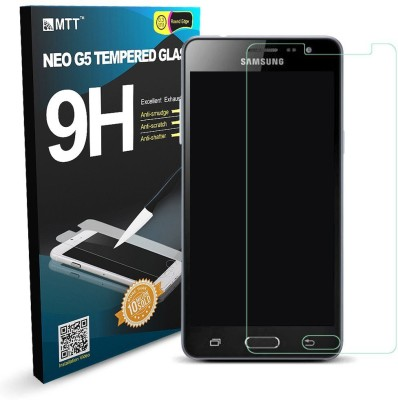 MTT Tempered Glass Guard for Samsung Galaxy J3 Pro(Pack of 1)