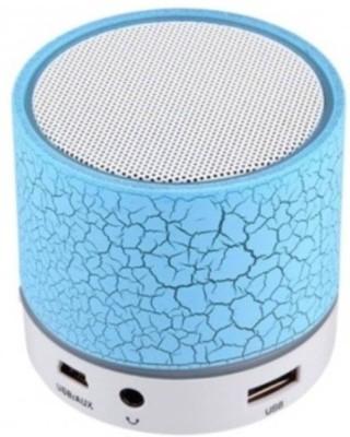 CA2Z latest Portable LED S10 3 W Bluetooth  Speaker(Blue, Mono Channel)