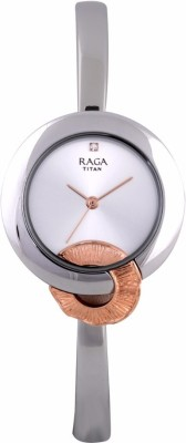 Titan 95051KM02F Raga Espana Analog Watch For Women