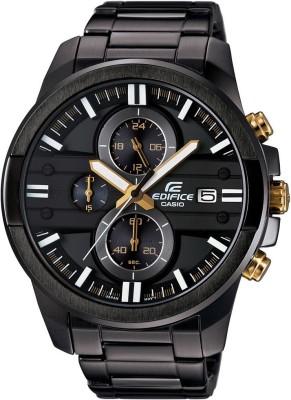 Casio EX224 Edifice ( EFR-543BK-1A9VUDF ) Analog Watch - For Men