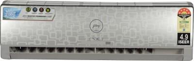 Godrej 1.5 Ton 3 Star BEE Rating 2017 Inverter AC  - Silver(GSC 18 GIG 5 DGOG (NXW), Aluminium Condenser)