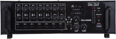 Dee Tech SSA-6500 500 W AV Power Amplifier(Black)