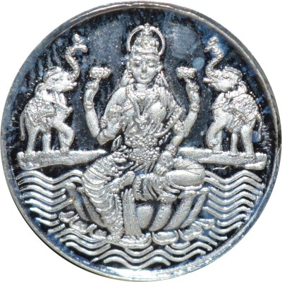Kataria Jewellers Laxmi Mata S 999 2.5 g Silver Coin Kataria Jewellers Coins   Bars