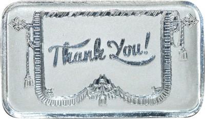 Kataria Jewellers Thank You S 999 10 g Silver Bar Kataria Jewellers Coins   Bars