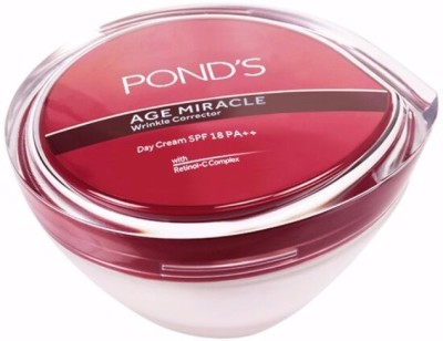 Ponds Age Miracle Wrinkle Corrector Day Cream SPF 18 PA++(50 g)  available at flipkart for Rs.550