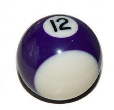Laxmi Ganesh Billiard POOL SOLID BALL (12) Billiard Ball(Pack of 16, Purple)