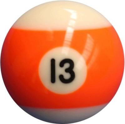 Laxmi Ganesh Billiard POOL SOLID BALL (13) Billiard Ball(Pack of 16, Orange)