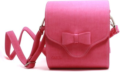 Caiul Universal Carry Bag Instant Camera, Compact Camera,Smartphone Printer Case (Pink)  Camera Bag(Pink)  available at flipkart for Rs.1095
