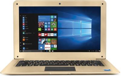 Lava Helium Atom Quad Core 7th Gen - (2 GB/32 GB EMMC Storage/Windows 10 Home) C121 Thin and Light Laptop(12.5 inch, Gold, 1.31 kg)