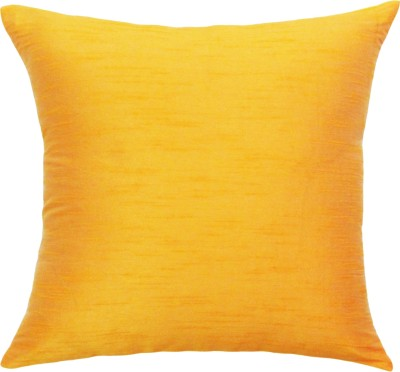 Vatsara Plain Cushions Cover(36 cm*36 cm, Yellow)  available at flipkart for Rs.86