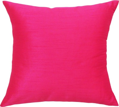 Vatsara Plain Cushions Cover(36 cm*36 cm, Pink)  available at flipkart for Rs.86
