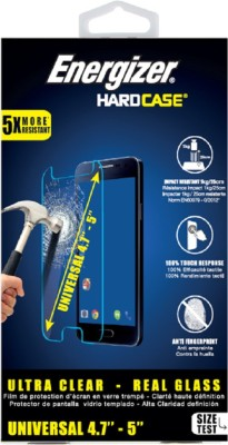 Energizer Tempered Glass Guard for HTC, MI, VIVO(Pack of 1)