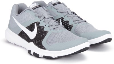 Nike FLEX CONTROL Training Shoes For Men(Black, Grey) 1