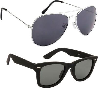 Mango People Wayfarer Sunglasses(Black)  available at flipkart for Rs.199