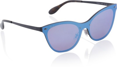 Ray-Ban Cat-eye Sunglasses(Blue) at flipkart