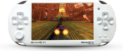 Mitashi Mitashi GameIn Smarty Pro 2.0 Handheld Game (White) 4 GB GB with 10000 In-Built(White)
