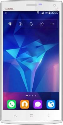 Gamma X7 (Silver & White, 8 GB)(1 GB RAM)