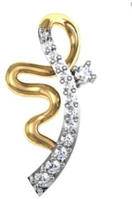 Jewels of Jaipur 14K Yellow Gold Diamond Gold Pendant