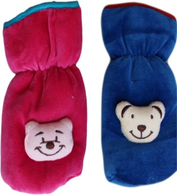 GLOOVIT SUEDE CARTOON BOTTLE COVER(Rani-DarkBlue)