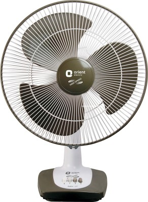 Orient Electric Electric Table-27 0 mm 3 Blade Table Fan Grey