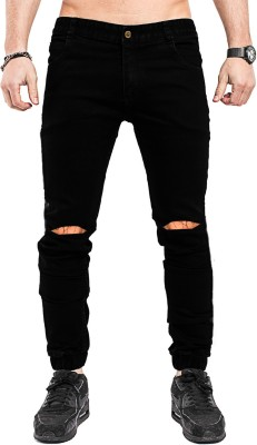 damler Slim Men Black Jeans