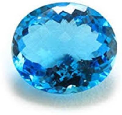 AJ 8.50 Ratti Natural Blue Topaz & Neela Pokhraj Gemstone Topaz Stone at flipkart