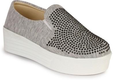 Appett Slip On Sneakers For Women Grey