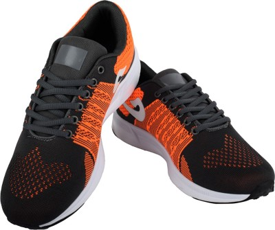 Go India Store Basketball Shoes For Men(Orange)